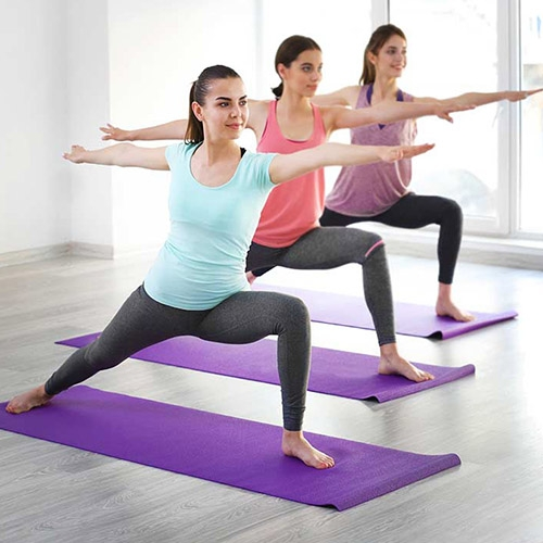 Aerobics, Yoga, Pilates