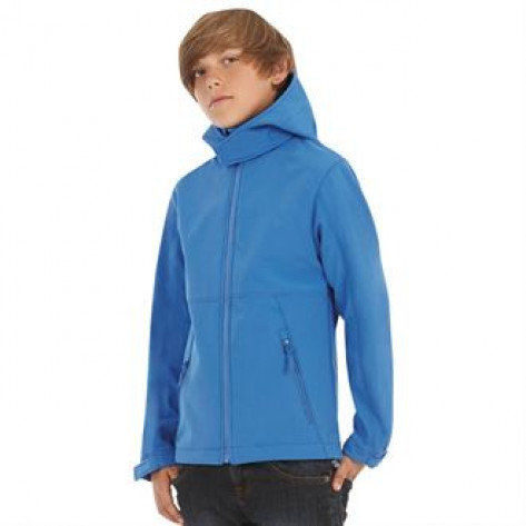 B&C Collection B&C Hooded softshell /kids