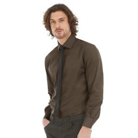 B&C Collection B&C Black tie LSL /men