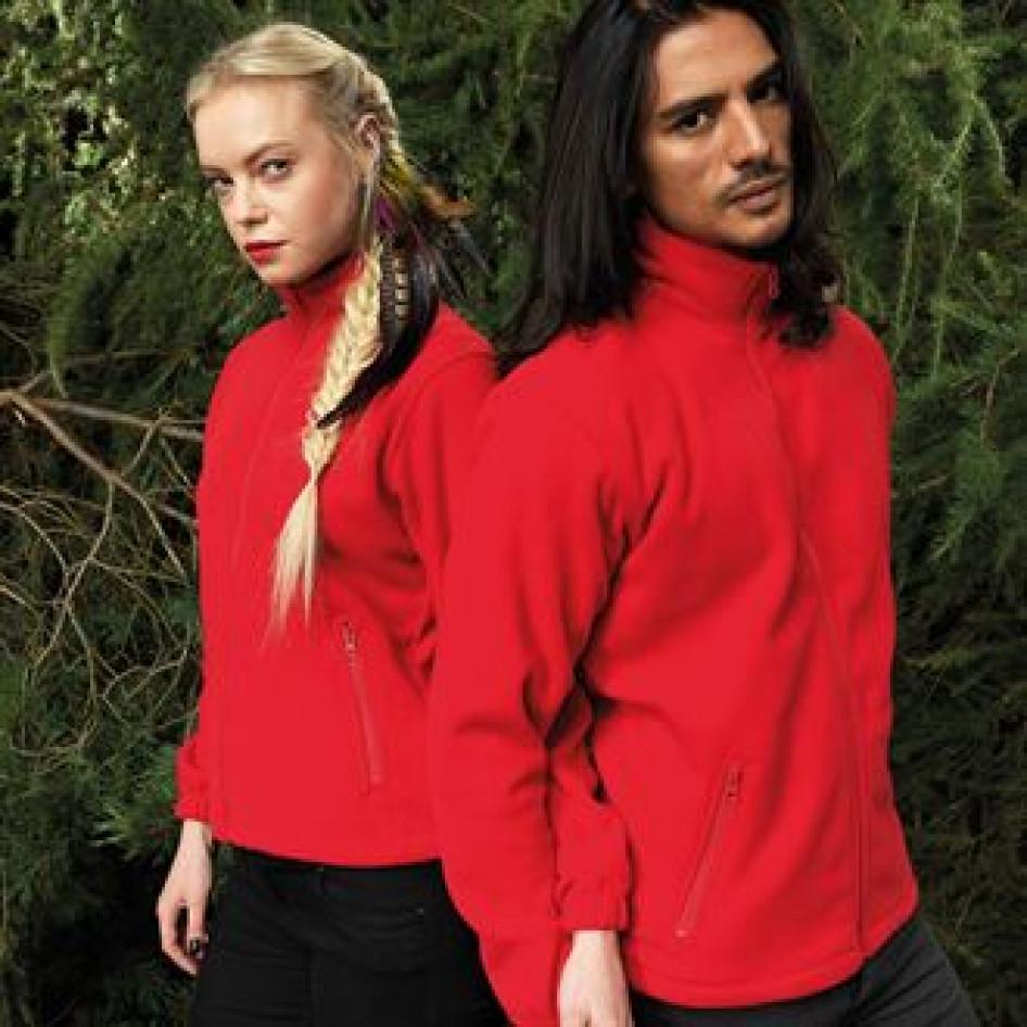 2786 Womens  Full Zip Warm Shaped Fit Fleece Jacket