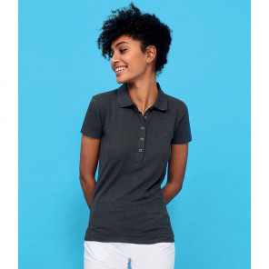 SOL'S Ladies Phoenix Piqu+® Polo Shirt
