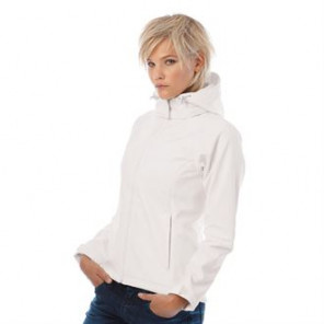 B&C Collection Hooded softshell /women