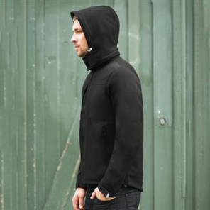 B&C Collection Hooded softshell /men