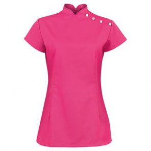 Alexandra Women's stand collar beauty tunic (NF959)
