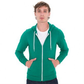 American Apparel Tri-blend terry zip hoodie (TRT497)