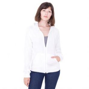 American Apparel Fine jersey zip hoodie (RSA2402)