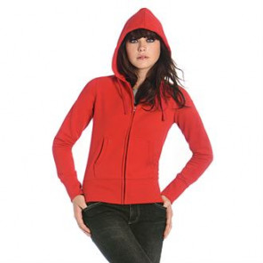 B&C Collection Hooded full zip /women