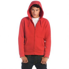 B&C Collection Hooded full zip /men
