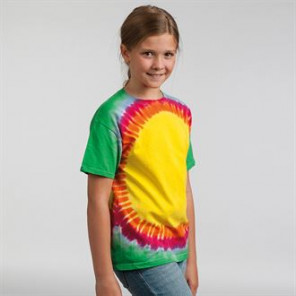 Colortone Kids rainbow sunburst T