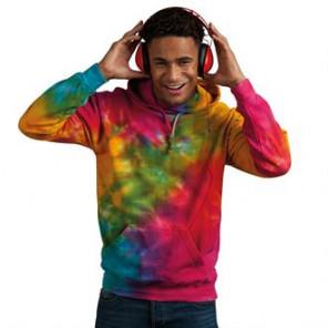 Colortone Rainbow tie-dye hoodie