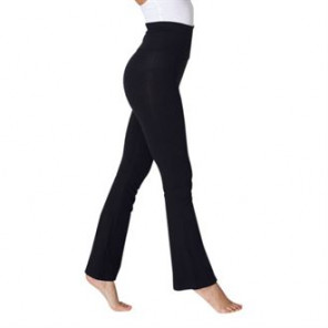 American Apparel Women's cotton Spandex jersey yoga pant (8300)