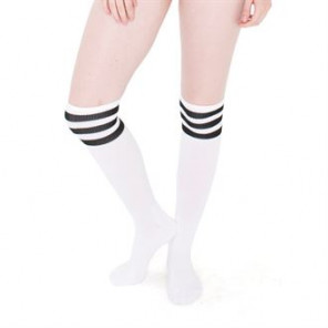 American Apparel Women's stripe knee-high sock (RSASKL)