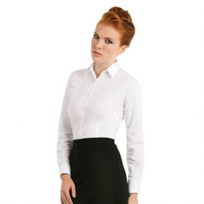 B&C Collection B&C Black tie LSL /women