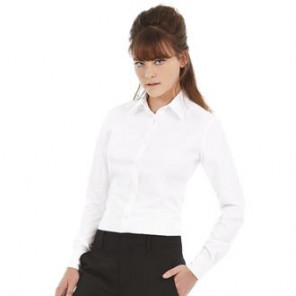 B&C Collection Oxford long sleeve /women