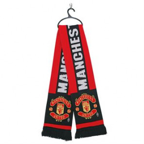 Official Football Merch Manchester United FC scarf