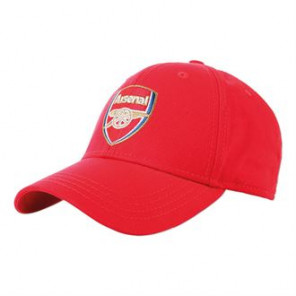 Official Football Merch Adult Arsenal FC core cap