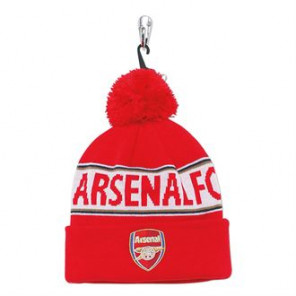 Official Football Merch Adult Arsenal FC text beanie
