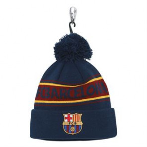 Official Football Merch Adult Barcelona FC text beanie