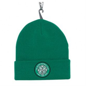 Official Football Merch Adult Celtic FC core beanie