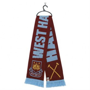 Official Football Merch West Ham FC scarf