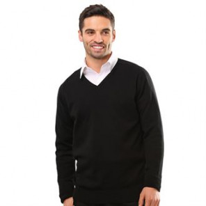 Maddins V-neck fully fashioned jumper