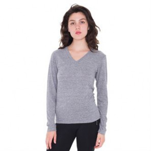 American Apparel Tri-blend long sleeve v-neck (TR476)