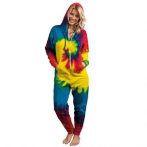 Colortone Rainbow tie-die all-in-one