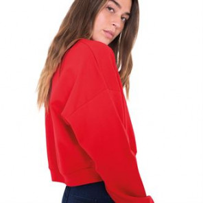 American Apparel California fleece cropped sweatshirt (5336)