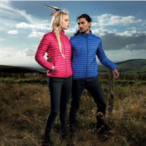 2786 Men's tribe fineline padded jacket
