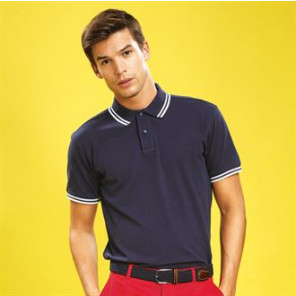 Asquith & Fox Men's classic fit - tipped polo