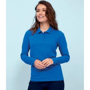 SOL'S Ladies Perfect Long Sleeve Piqu+® Polo Shirt