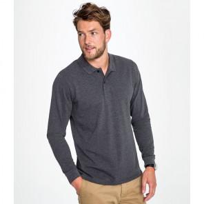 SOL'S Perfect Long Sleeve Piqu+® Polo Shirt