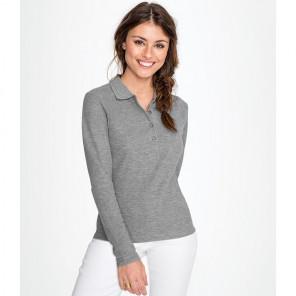 SOL'S Ladies Podium Long Sleeve Cotton Piqu+® Polo Shirt