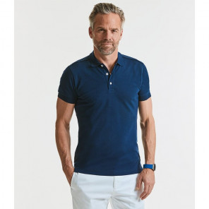 Russell Stretch Piqu+® Polo Shirt