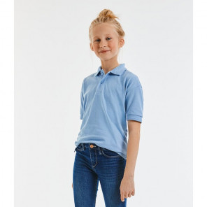 Jerzees Schoolgear Kids Hardwearing Poly/Cotton Piqu	é Polo Shirt