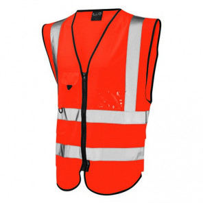 Orn Clothing Delux HiVis Waistcoat