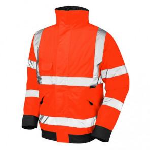 Orn Clothing Hi-Viz Bomber Jacket