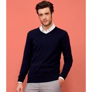 SOL'S Galaxy Cotton Acrylic V Neck Sweater
