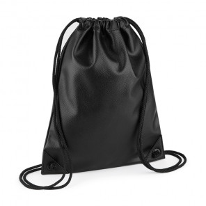 BagBase Faux Leather Gymsac