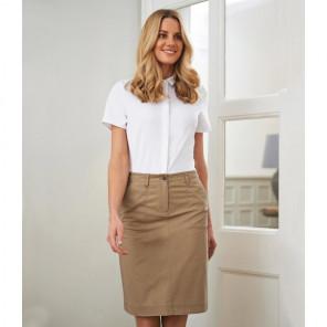 Brook Taverner Ladies Austin Chino Skirt