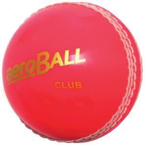 AERO CLUB CRICKET BALLS BLISTER PACKED PINK