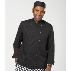 Dennys Long Sleeve Press Stud Chef's Jacket