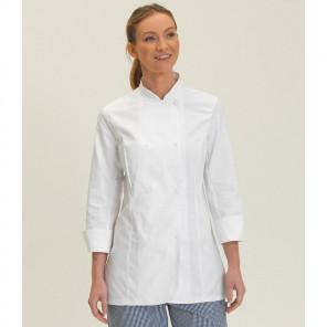 Dennys Ladies Long Sleeve Premium Chef's Jacket