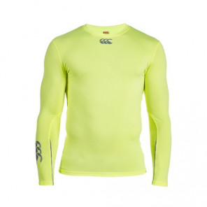 CANTERBURY BASELAYER COLD FLURO LONG SLEEVE TOP