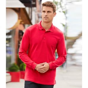 Gildan Long Sleeve Premium Cotton® Double Piqu+® Polo Shirt