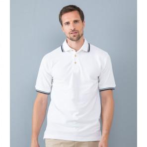 Henbury Contrast Double Tipped Cotton Piqu+® Polo Shirt