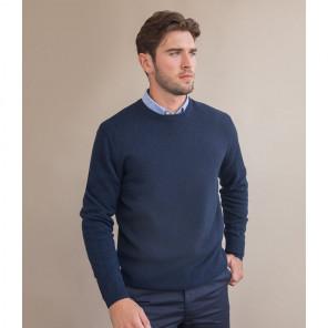 Henbury Lambswool Crew Neck Sweater