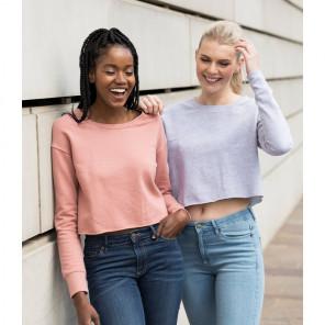 AWDis Ladies Cropped Sweatshirt