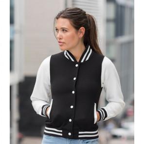 AWDis Ladies Varsity Jacket