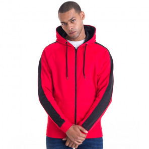 AWDis Contrast Sports Polyester Zoodie